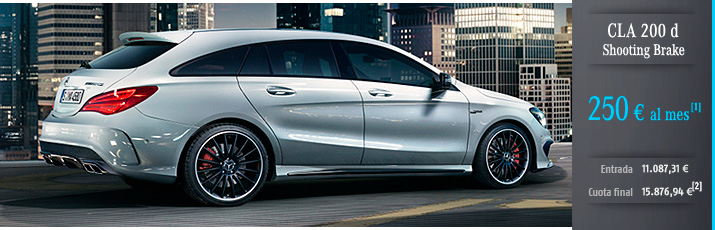Oferta Mercedes CLA 200d Shooting Brake