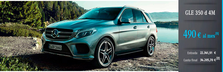 Oferta Mercedes GLE 350d 4m con Mercedes-Benz Alternative